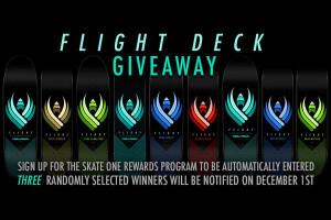 Flight Deck Giveaway For Reward Members