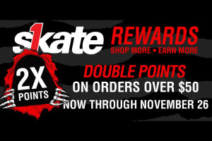 Earn Double Points On Orders Over $50, Ends 11/26