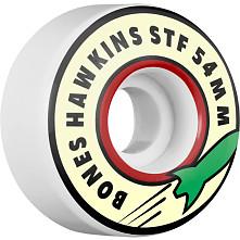 BONES WHEELS STF Pro Hawkins Rocket Skateboard Wheel V1 54mm 103A 4pk