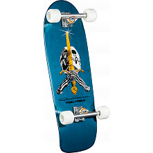 Powell Peralta Rodriguez Skull and Sword Complete Assembly Blue - 10 x 30