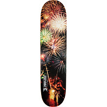 Mini Logo Small Bomb Skateboard Deck 250 Fireworks - 8.75 x 33