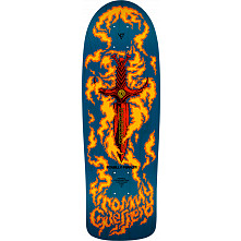 Pre Sale Bones Brigade® Tommy Guerrero 10th Series Reissue Skateboard Deck Blue - 9.6 x 29.18