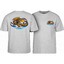 Powell Peralta Oval Dragon Youth T-shirt Gray