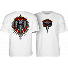 Powell Peralta Vallely Elephant T-shirt White