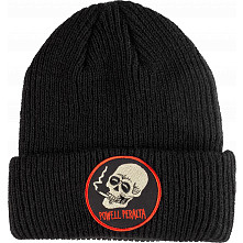 Powell Peralta Smoking Skull Beanie - Black