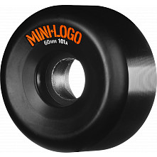 Mini Logo Wheel 60mm 101a 4pk Black
