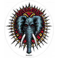 Powell Peralta Vallely Elephnat Sticker single