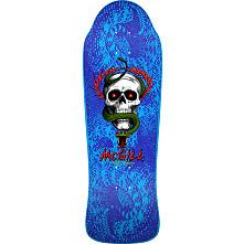 Pre Sale Bones Brigade® Mike McGill 10th Series Reissue Skateboard Deck Blue - 9.94 X 30.43