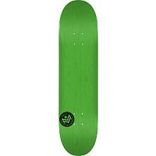 "MINI LOGO CHEVRON STAMP ""12"" SKATEBOARD DECK 181 GREEN - 8.5 X 33.5"