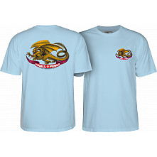 Powell Peralta Oval Dragon Youth T-shirt Powder Blue