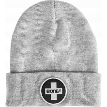 Bones Bearings Gray Beanie