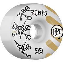 BONES SPF War Paint 55x34 P4 Skateboard Wheel 81B 4pk