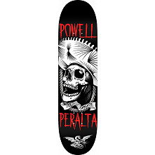Powell Peralta Te Chingaste Skateboard Deck White - Shape 249 - 8.5 x 32.08