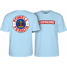 Powell Peralta Supreme T-shirt Powder Blue