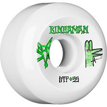 BONES STF Pro Bingaman Burney 55x32 V5 Skateboard Wheel 83B 4pk
