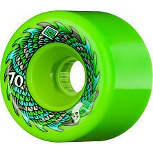 Powell Peralta Soft Slide Offset 70mm 4pk Green Wheels