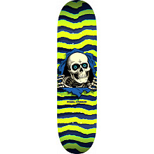 Powell Peralta Ripper Skateboard Blem Deck Lime - Shape 242 - 8 x 31.45