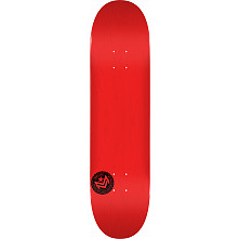 "MINI LOGO CHEVRON STAMP ""12"" SKATEBOARD DECK 112 RED - 7.75 X 31.75"
