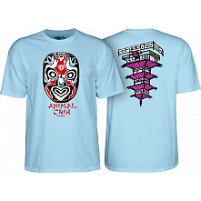 Powell Peralta Chin Mask Blue T-Shirt
