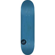 "MINI LOGO CHEVRON STAMP ""12"" SKATEBOARD DECK 124 BLUE - 7.5 X 31.375"