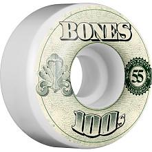 BONES 100's OG Formula 55x34 V4 Skateboard Wheel 100a 4pk