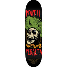 Powell Peralta Te Chingaste Skateboard Blem Deck Green - Shape 248 - 8.25 x 31.95