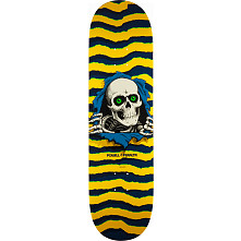 Powell Peralta Ripper Skateboard Blem Deck Yellow - Shape 244 - 8.5 x 32.08