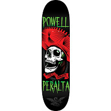 Powell Peralta Te Chingaste Skateboard Blem Deck Red - Shape 247 - 8 x 31.45
