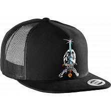 Powell Peralta SAS Trucker Cap - Black