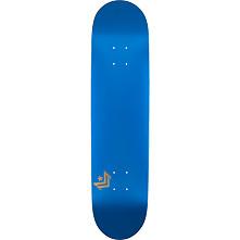 Mini Logo Chevron Skateboard Deck 249 Metallic Blue - 8.5 x 32