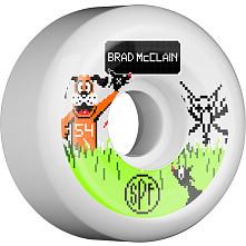 BONES SPF Pro McClain Duck Hunt 54x31 P5 Skateboard Wheel 84B 4pk