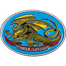 Powell Peralta Oval Dragon Lapel Pin