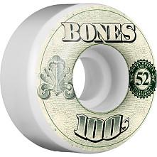 BONES 100's OG Formula 52x34 V4 Skateboard Wheel 100a 4pk