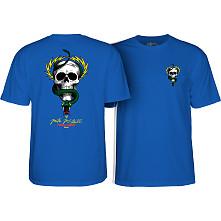 Powell Peralta McGill Skull and Snake T-shirt Royal Blue