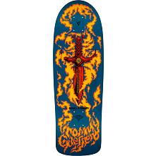 Bones Brigade® Tommy Guerrero 10th Series Reissue Skateboard Deck Blue - 9.6 x 29.18