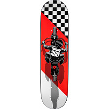 Powell Peralta Caballero Flat Track Skateboard Deck - 8.25 x 32.5