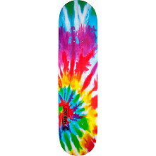 Mini Logo Small Bomb Skateboard Deck 127 Tie-Dye - 8 x 32.125