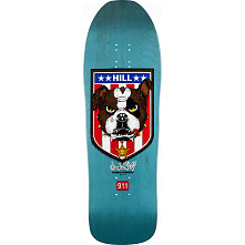 Powell Peralta Hill Skateboard Blem Deck Blue - 10 x 31