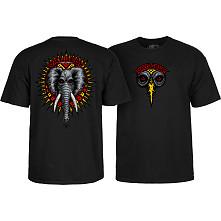 Powell Peralta Vallely Elephant T-shirt Black
