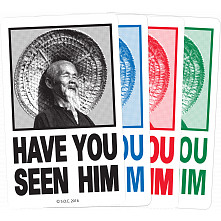 Powell Peralta Have You Seen Him Sticker (20 pack)