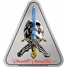 Powell Peralta Skull & Sword Sticker (20 pack)