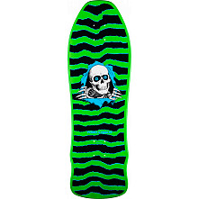 Powell Peralta Ripper Geegah Blem Deck Green - 9.75 x 30