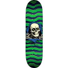 Powell Peralta Ripper Skateboard Deck Green - Shape 245 - 8.75 x 32.95