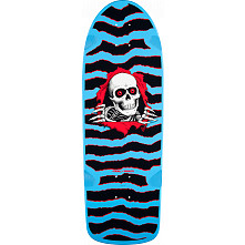 Powell Peralta OG Ripper Skateboard Blem Deck Blue - 10 x 30