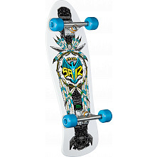 Powell Peralta Saiz Totem Complete Assembly White - 10 x 30.81