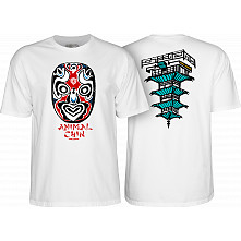 Powell Peralta Chin Mask White T-shirt