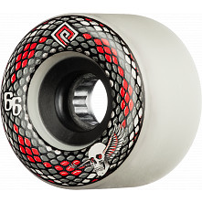 Powell Peralta Snakes 66mm 75a 4pk White