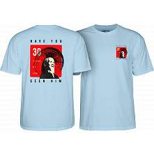 Powell Peralta Animal Chin 30 yrs. Light Blue T-shirt