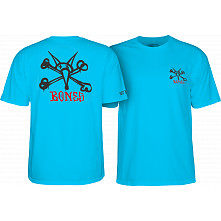 Powell Peralta Rat Bones Youth T-shirt Turqouise