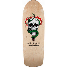 Powell Peralta McGill OG Skull and Snake Skateboard Deck Natural - 10 x 30.125